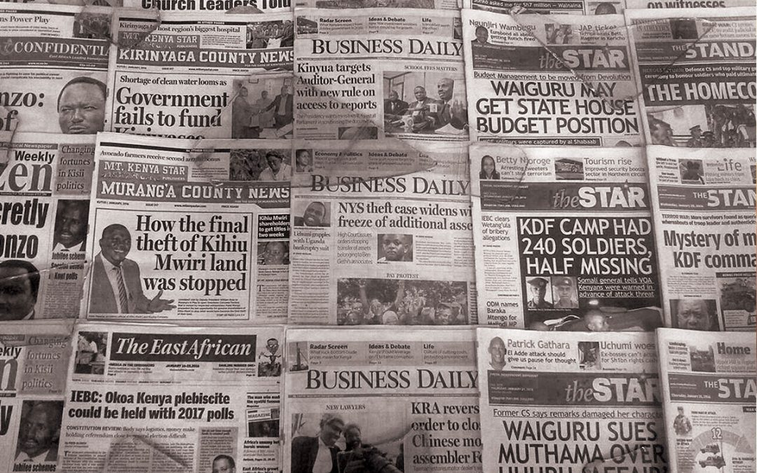 Keeping newspapers relevant in the digital age