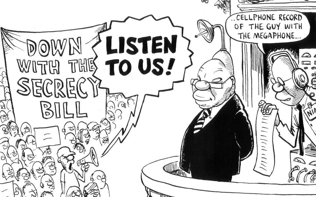 Cartoon – Secrecy Bill